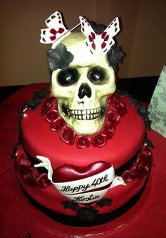 Amazing #Skull Birthday cake!