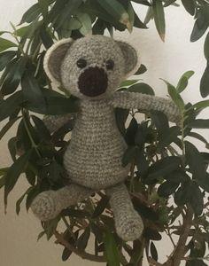 #koala #hækling #crochet #kerrylord #edwardsmenagerie #gaverernogetmanlaver #niecesbaby #kroezedezign March 2017
