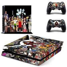 Devoted Ps4 Slim Sticker Console Decal Playstation 4 Controller Vinyl Skin Brunette Faceplates, Decals & Stickers