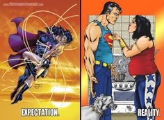 #Superman #WonderWoman