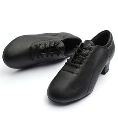 Uk men black #leather mid heel latin jazz tango salsa #ballroom lace #dance shoes,  View more on the LINK: 	http://www.zeppy.io/product/gb/2/281712011334/