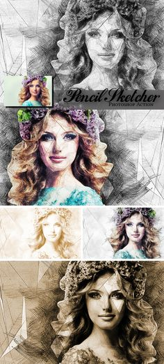 Pencil Sketcher - Photo Effects Actions
