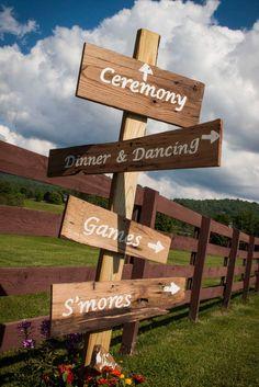 Country wedding sign #farmwedding