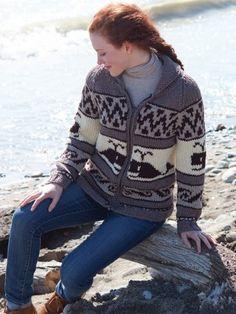 Yarnspirations.com - Patons A Whale of A Sweater - Patterns | Yarnspirations