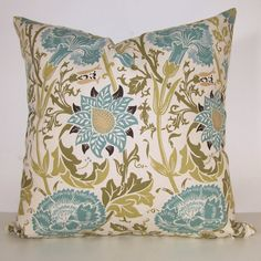 teal, yellow, grey color scheme.  A pillow or two of something unstriped?