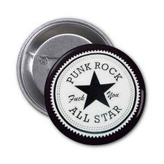 Botao redondo Punk Rock Pins