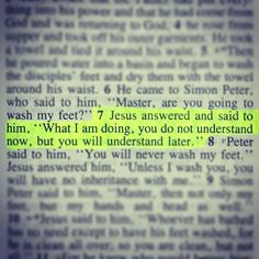 John 13:7........ Trust in Him. He knows what he is doing.