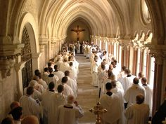Cistercian Monks of Heiligenkreuz Abbey, Austria