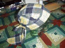 chemo cap or doo-rag pattern