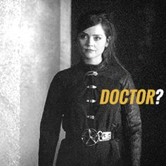 guys! clara its the reason doctor who is fun! she chose the tardis!!!!!