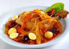 Mistura Perú: Prescripción Escabeche de pollo [Rica plato peruano]