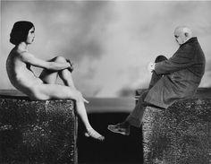 '' Priam's sons' by Gilbert Garcin Old Photography, Abstract Photography, Gilbert Garcin, Black White Photos, Black And White, Eugene Ionesco, Elliott Erwitt, Brassai, Diane Arbus