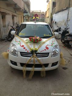 Beautifull car decotaion ahmedabad httpfloretmart httpfloretmart wedding car decorationswedding cars junglespirit Image collections