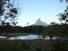 Rempart mountain in the background from Tamarin