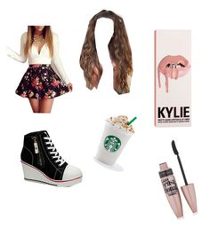"""""""Partying 🎉💕"""" by gisselleotero on Polyvore featuring WithChic and Maybelline"""