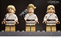 Funny Star Wars lego scenes