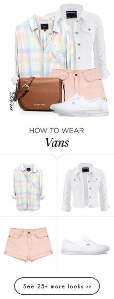 """Untitled #5711"" by doradabrowska on Polyvore featuring moda, maurices, Rails, Current/Elliott, MICHAEL Michael Kors ve Vans"