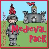 medieval themed printables for pre-k & K