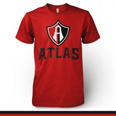 Atlas Guadalajara Mexico - Rojinegros T-shirt Camiseta - Pandemic Soccer  Guadalajara 2b7b62d066adf