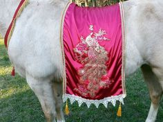 Arabian Knights Horse Blanket / Show Piece in Red by MyBuddyBling