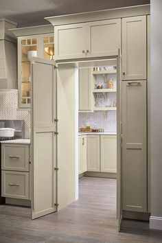 Is a walk-in pantry at the top of your wish list for kitchen remodeling? The pantry … Is a walk-in pantry at the top of your kitchen remodel wish list? The Pantry Wal…-Is a walk-in pantry at the top of your kitchen remodel wish list? The Pantry Walk Throu Kitchen Pantry Design, Kitchen Cabinet Organization, Home Decor Kitchen, New Kitchen, Kitchen Cabinets, Kitchen Ideas, Organization Ideas, Pantry Ideas, Cabinet Ideas