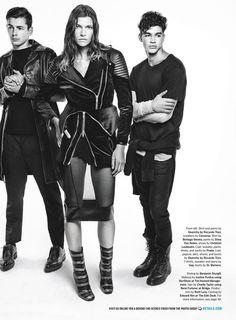 Details Magazine - Black Out