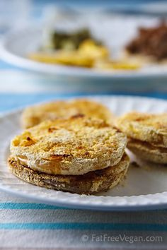 Oven-Fried Green Tomatoes! Healthy alternative for the most delicious food on the planet!