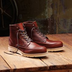 Fancy - Wolverine Emerson Leather Wedge Boot