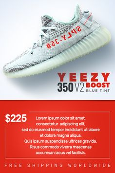 official photos 0553f bee63 Adidas Yeezy Boost 350 V2 Blue Tint shoes