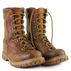 official photos 32dc4 06711 Levis Worn Leather Boots Sz 11M Insulated Work Wear Heavy Duty Lace Up 775  I 84. Vintage ...