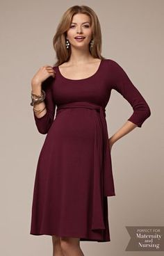 Naomi Maternity Nursing Dress Mulberry - Maternity Wedding Dresses, Evening Wear and Party Clothes by Tiffany Rose UK Breastfeeding Dress, Maternity Nursing Dress, Maternity Wear, Maternity Dresses, Maternity Fashion, Maternity Wedding, Maternity Clothing, Tiffany Rose, Party Kleidung