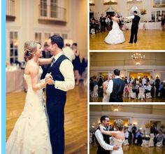In a ballroom at Lafayette Country Club, Amy and Chris swept guests off their feet! #weddings #Minnesota