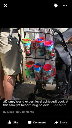 How to keep drinks at Disney