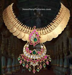 Antique necklace and antique finish necklaces Latest designs Bridal Jewellery Inspiration, Gold Jewellery Design, Bridal Jewelry, Jewelry Gifts, Jewelery, Antic Jewellery, India Jewelry, Temple Jewellery, Antique Necklace