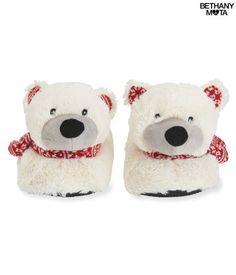 Polar Bear Slippers | @giftryapp