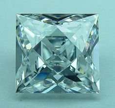 "French Cut Diamond. Although an attractive shape in its own right, this cut is more often used for accent stones in this day and age - as the fashion in modern times is for central stones to optimize ""light performance"" - such as the round brilliant cut."