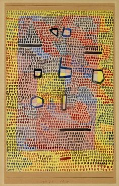 pinkpagodastudio: Paul Klee--Liked to Take a Line for a Walk--
