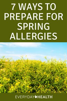 You can feel it in the air — spring allergies are fast approaching. With the changing of the seasons comes an increase of pollen and mold in the environment, which means a lot of people are going to be reaching for a box of tissues.