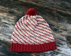 PATTERN Swirly Heart Hat *crochet * waistcoat stitch