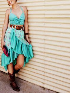 Teal Summer Outfit | Calabash Design