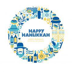 Hanukkah Greeting, Feliz Hanukkah, Hannukah, Happy Hanukkah, Hanukkah Pictures, Hanukkah Symbols, Rosh Hashanah, Festival Lights, Holiday Festival