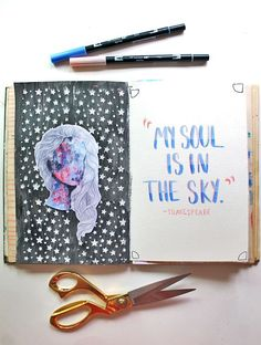 /punkprojects/ | Season of Introspection | Get Messy Art Journal | Creative Team Inspiration
