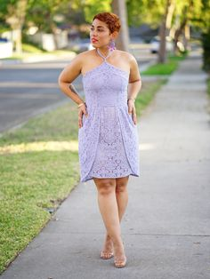 DIY Lace Dress using Simplicity Pattern #8611 by Mimi G
