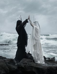 pinterest → @kalebkrychek | siren: the spectral and grim photography of american ghoul.