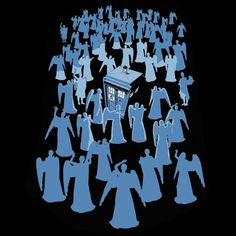 Doctor Who Angel Death Trap Shirt $19.99