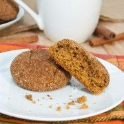 Sweet Pea's Kitchen » Pumpkin Gingersnap Cookies