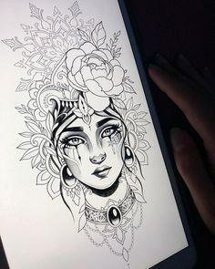 - Mandalas - Tattoo Designs For Women Forearm Sleeve Tattoos, Sleeve Tattoos For Women, Leg Tattoos, Girl Tattoos, Chaos Tattoo, Sketch Tattoo Design, Tattoo Sketches, Tattoo Drawings, Natur Tattoo Arm
