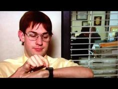 The Office - Jim Impersonates Dwight - Battlestar Gallactica - YouTube