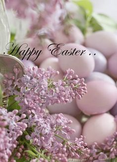 Lilac & Spring Eggs, not just for Easter.