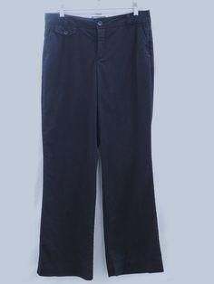 Dockers Collection Ideal Fit Women's Pants Slacks 10 Black 32/32 #DOCKERS #PantsSlacks
